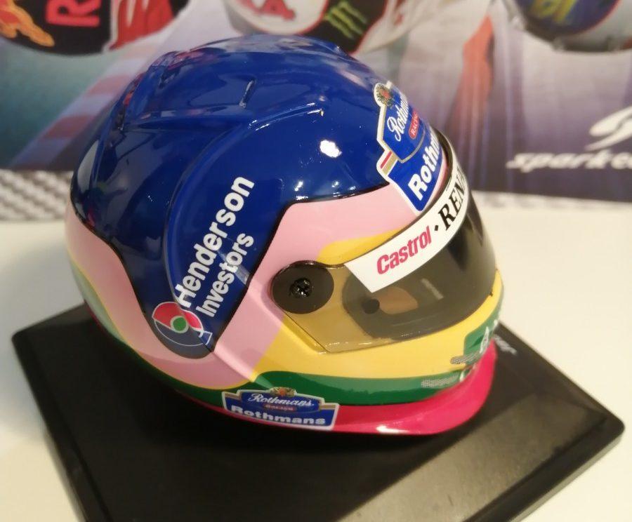 Jacques Villeneuve: il casco come una maglia…