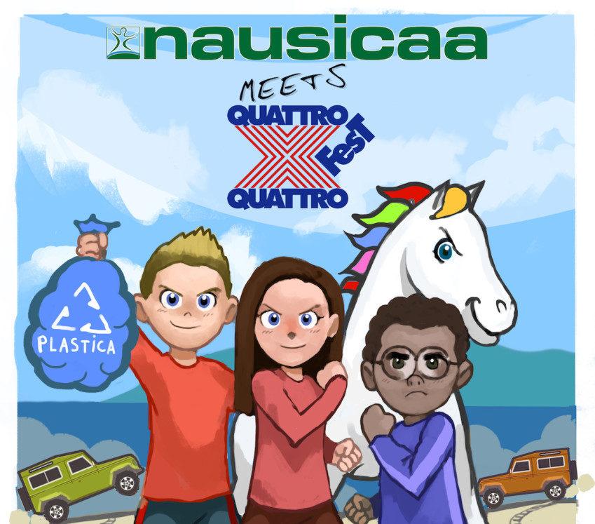 4×4 Fest guarda all'ambiente con Nausicaa