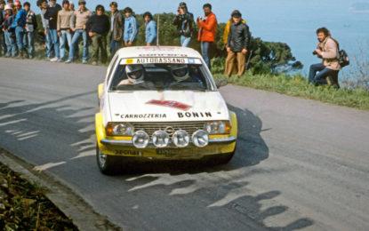 All'asta a Padova la Opel Ascona di Miki Biasion