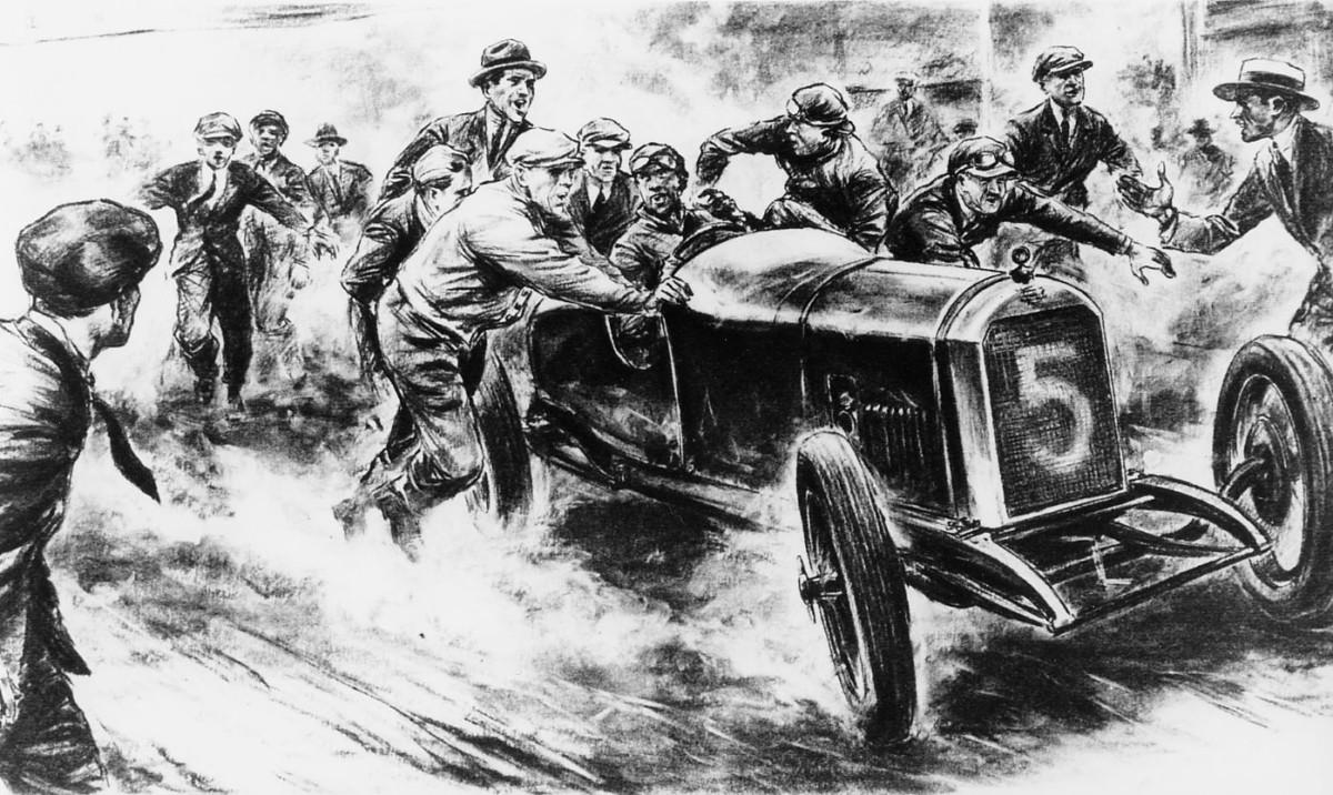 Peugeot celebra i 100 anni della vittoria alla Targa Florio
