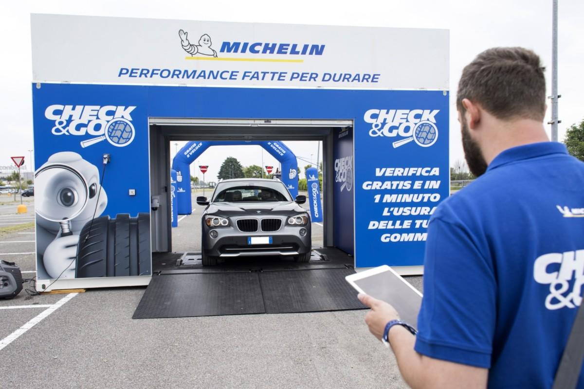Michelin per la sicurezza: il Miglio di Milano, Check&Go e #madetolast