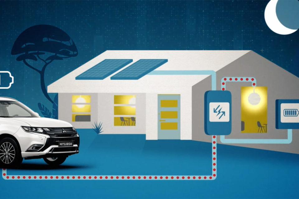Mitsubishi DENDO DRIVE HOUSE è realtà, per ora solo in Giappone