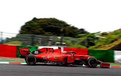La Ferrari promette ma lascia fuori Leclerc. E arriva la penalità