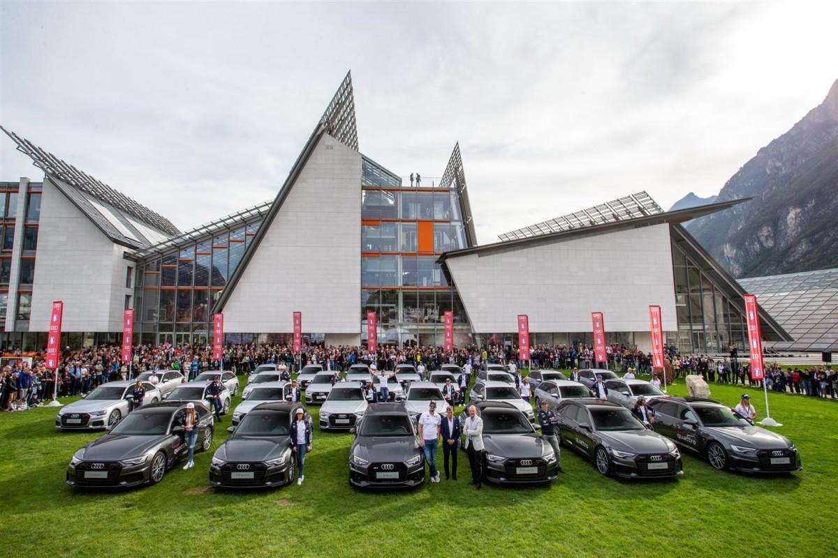 Audi per gli atleti della Federazione Italiana Sport Invernali