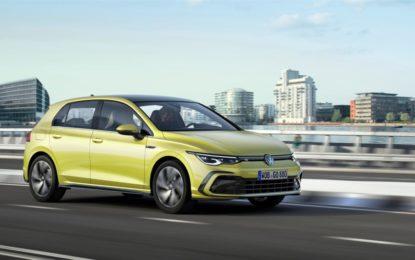 Volkswagen Golf: ecco l'ottava generazione