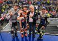 Marquez, Crutchlow e Miller sul podio in Australia