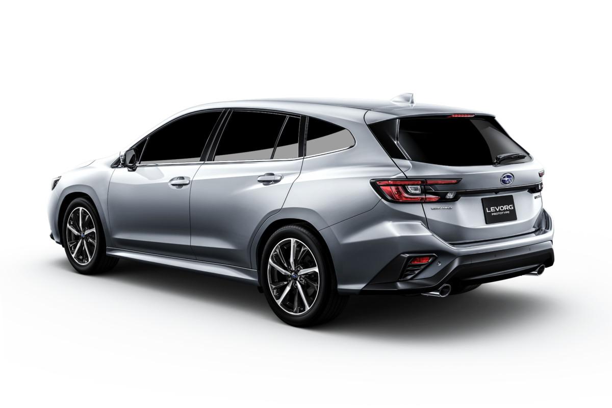 Al Tokyo Motor Show la nuova Subaru Levorg Prototype