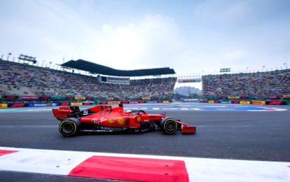 Messico: il venerdì è di Vettel, davanti a Verstappen e Leclerc