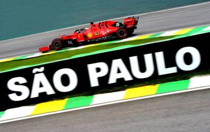 Brasile: Vettel sfiora la pole e guarda con ottimismo alla gara