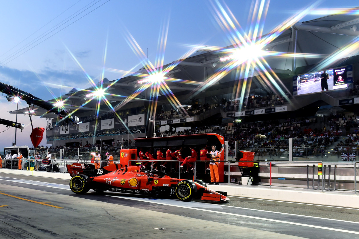 Seconda fila per la Ferrari ad Abu Dhabi