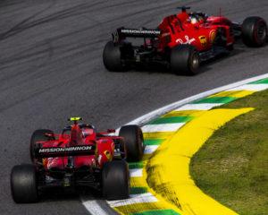 Ferrari: tutto chiarito dopo l'incidente in Brasile