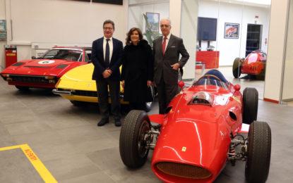 Dopo la Lamborghini, il presidente del Senato visita la Ferrari