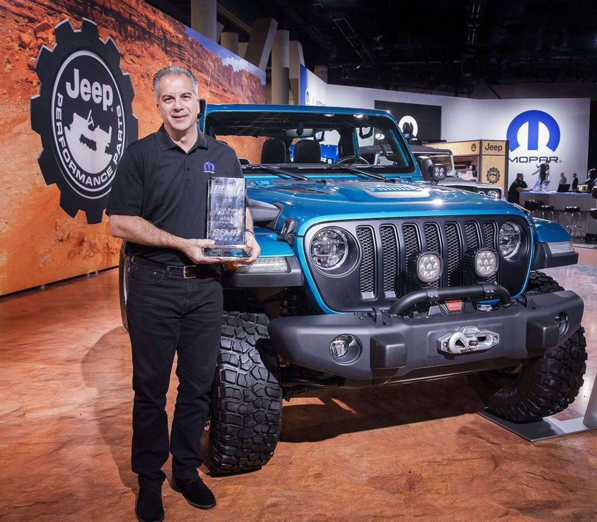 Jeep Wrangler regina del SEMA per il decimo anno