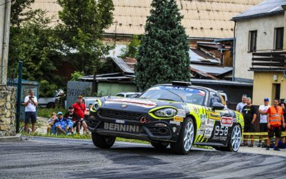 Abarth Rally Cup 2019: in Ungheria si decide il vincitore