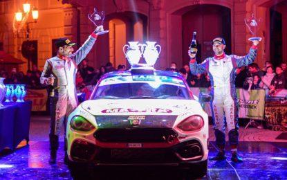 Nucita campione Abarth Rally Cup 2019