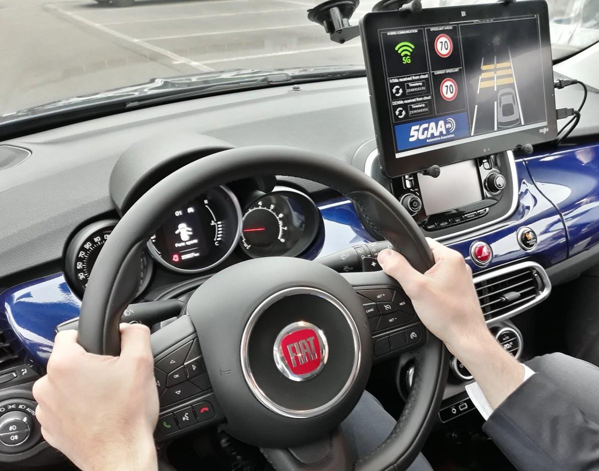 FCA e tecnologia 5G, per auto più intelligenti e sicure