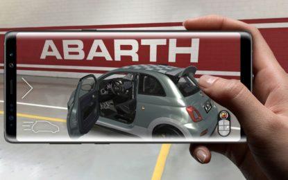 Una app per scoprire la Abarth 695 70° Anniversario