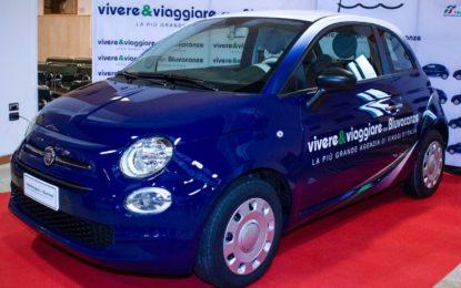 Fiat 500 in edizione limitata per Vivere&Viaggiare e Bluvacanze