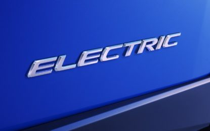 Lexus: debutto dell'elettrico