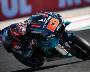 Valencia: Quartararo in pole davanti a Marquez e Miller
