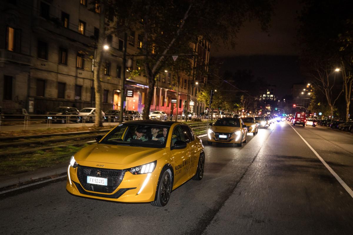 Partita da Milano la nuova era della mobilità elettrica PEUGEOT