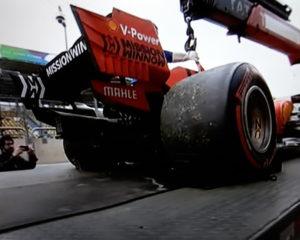Brasile: Vettel e Leclerc a caldo. E lo scaricabarile