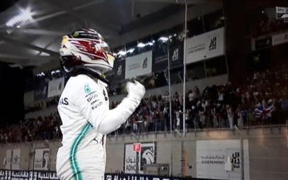 Abu Dhabi: a Hamilton l'ultima pole 2019. E nuovo errore Ferrari