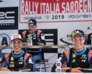 Sordo e Mikkelsen al Monza Rally Show