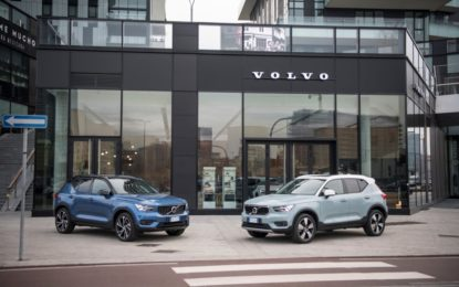 A Volvo XC40 il Mission Fleet Award 2019