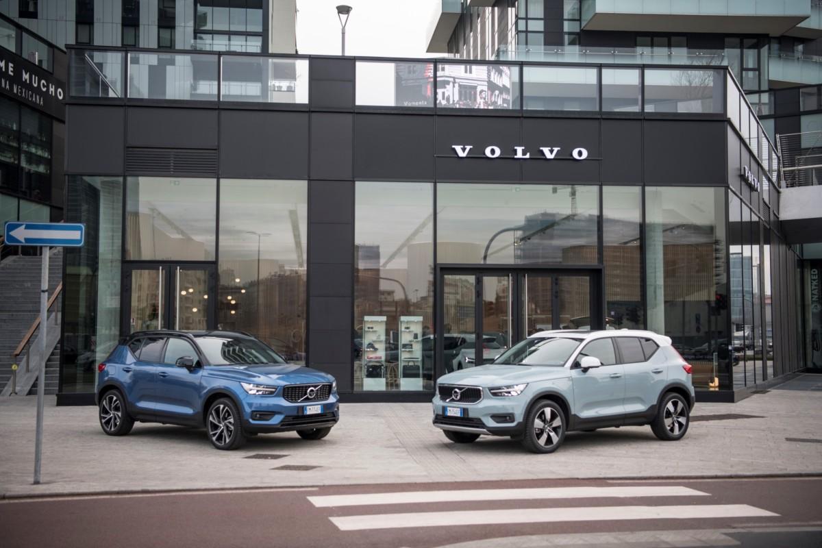 A Volvo XC40 il Mission Fleet Award 2019