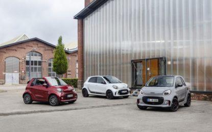 Nuova smart: solo elettrica a partire da 25.000 euro