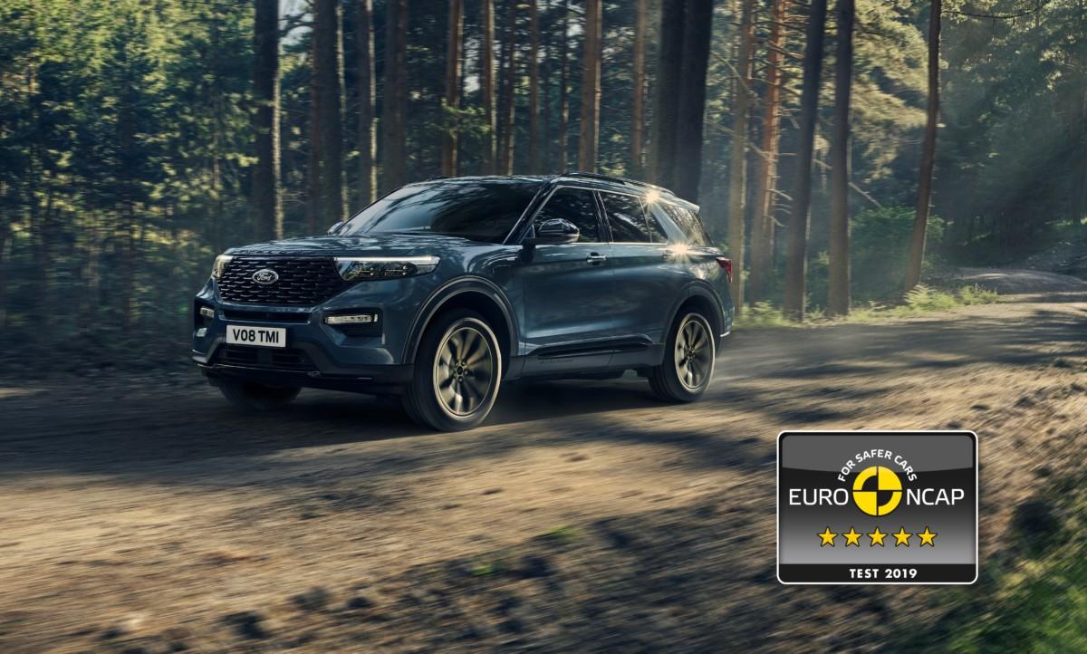 5 stelle Euro NCAP per il Ford Explorer Plug-In Hybrid