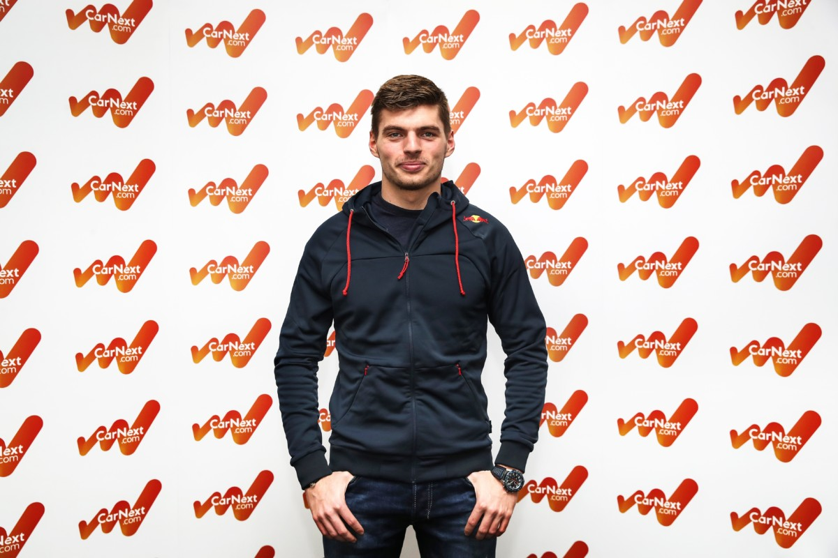 CarNext.com sbarca in F1 in partnership con Max Verstappen