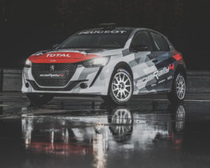 Peugeot Sport presenta la nuova 208 RALLY 4