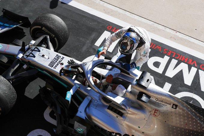 USA: Bottas vince, Hamilton sei volte campione. Ferrari KO