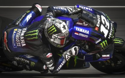 Viñales rinnova il contratto con la Yamaha per il 2021-2022