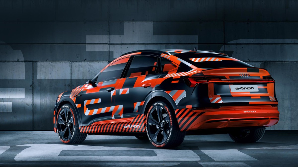 Audi e-tron Sportback: anteprima in diretta streaming