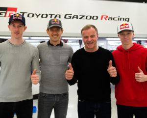 Toyota annuncia i piloti WRC 2020: Ogier, Evans e Rovanperä