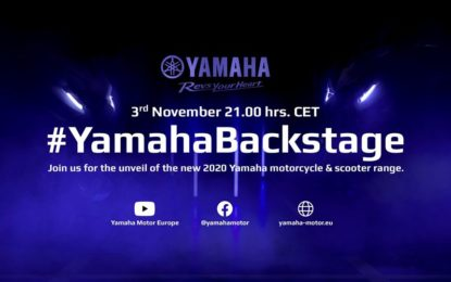 EICMA: alle 21.00 qui live la presentazione delle novità Yamaha