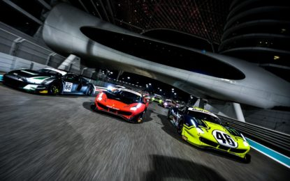 Seconda fila per Ferrari alla 12 Ore del Golfo. Terza per Valentino Rossi