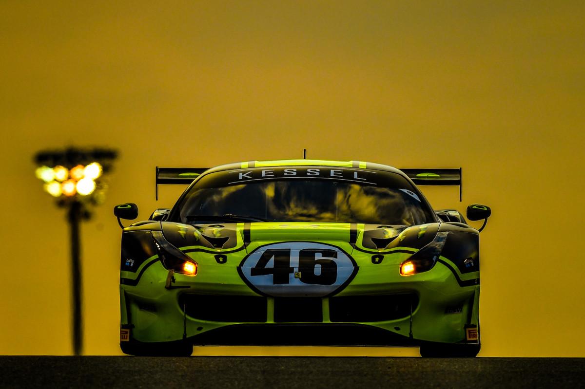 12 Ore del Golfo: debutto vincente per Rossi sulla Ferrari 488 GT3