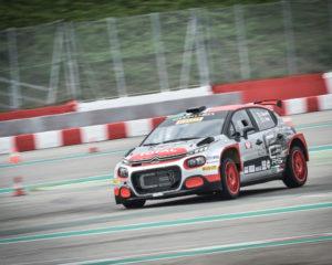 Citroën Italia al Monza Rally Show con la C3 R5 di Rossetti-Mori