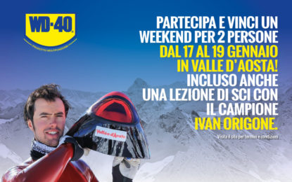 "Un ""Week-end ad alta quota"" con WD-40"