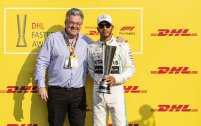 I DHL Awards 2019 a Hamilton e Red Bull Racing