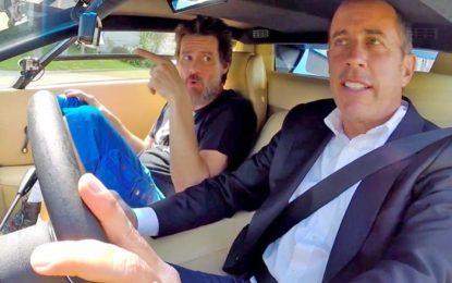 COMEDIANS IN CARS GETTING COFFEE. E l'ode giusta all'automobile