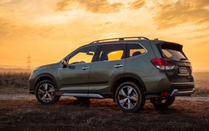 Subaru: 10 premi ai Residual Value Award e al Vincentric 2020