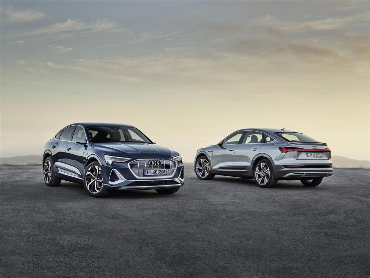 Audi e-tron Sportback: si aprono gli ordini