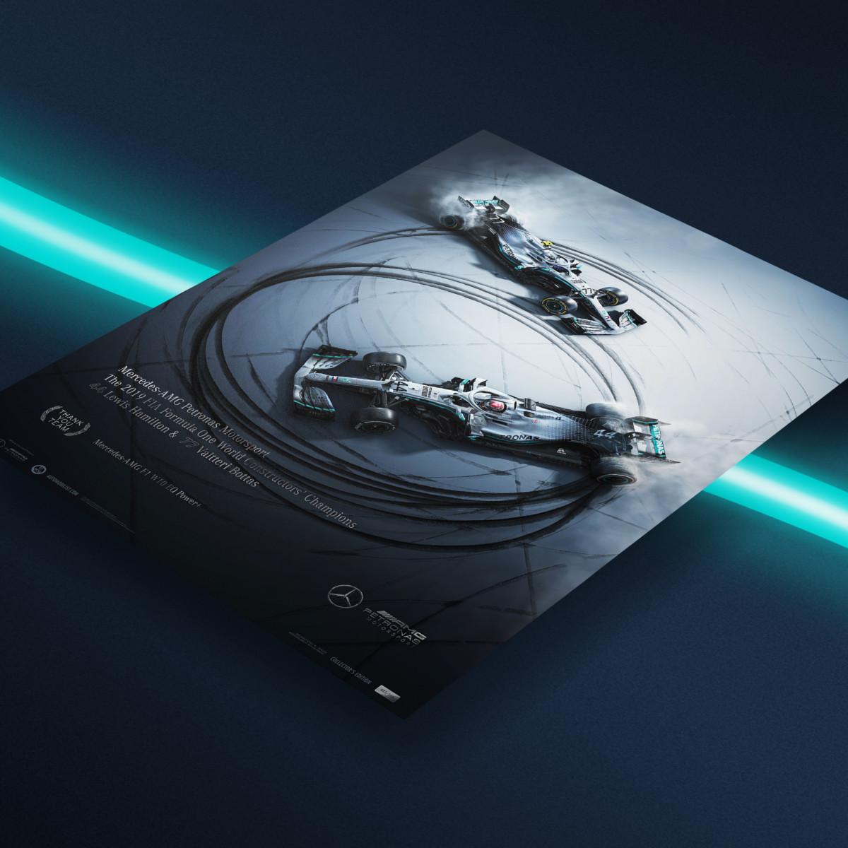Automobilist: poster in edizione limitata per i Campioni 2019
