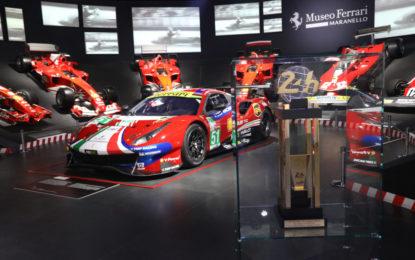 """Da oggi aperta la mostra """"Ferrari at 24 Heures du Mans"""""""