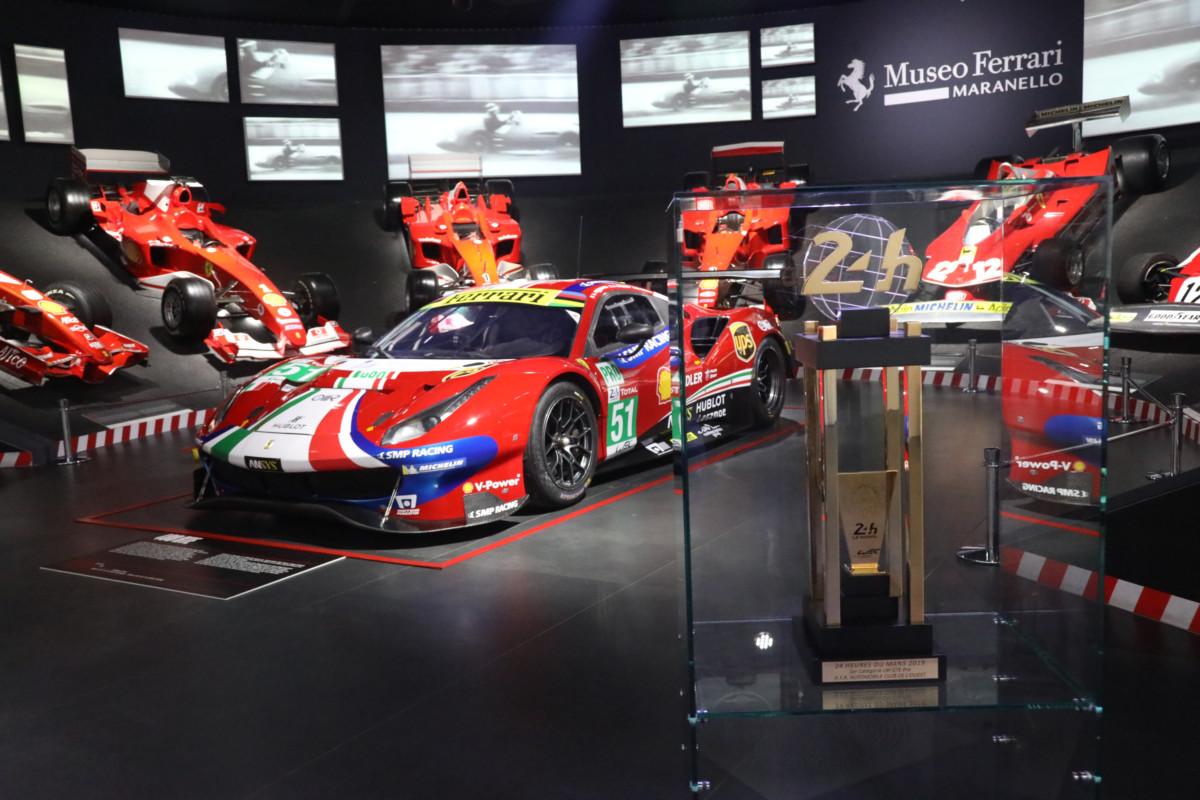 """Inaugurata la mostra """"Ferrari at 24 Heures du Mans"""""""